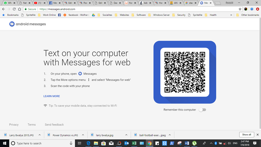 Send Android Text Messages From PC
