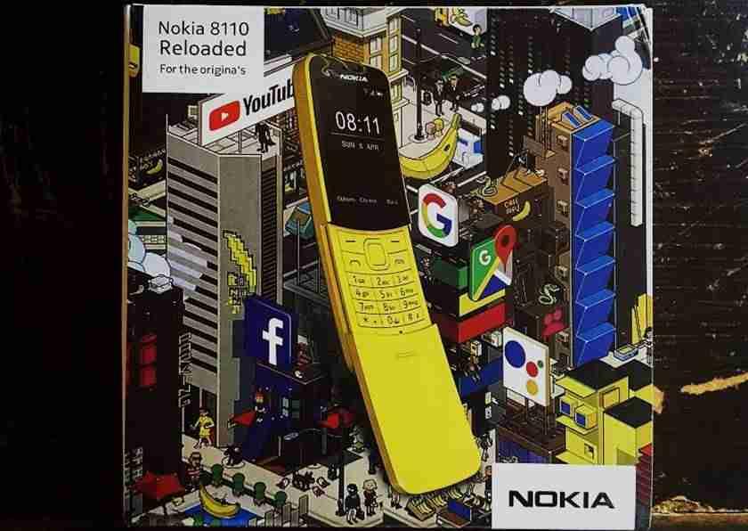 Nokia 8110 4G reloaded