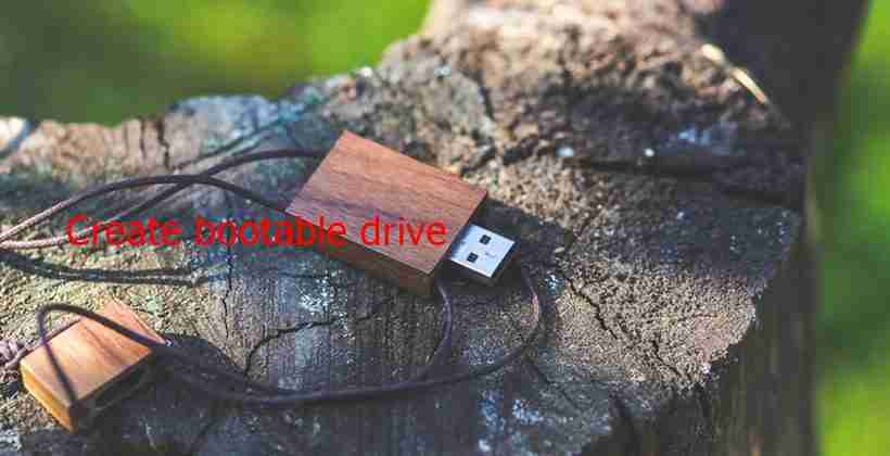 Tool For Creating Bootable Drive