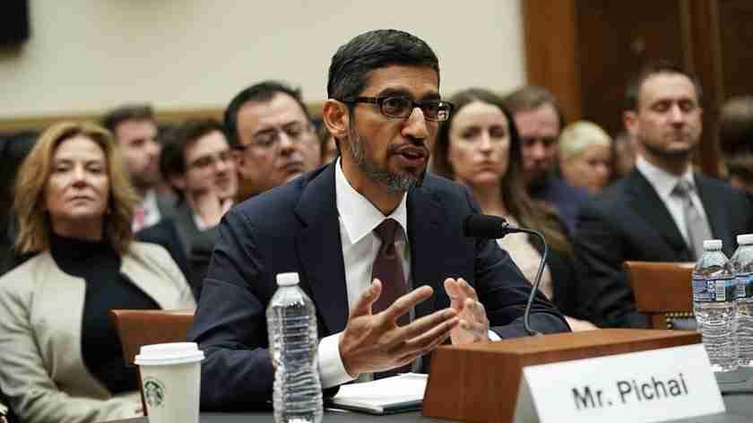 Google CEO Pichai Sundar