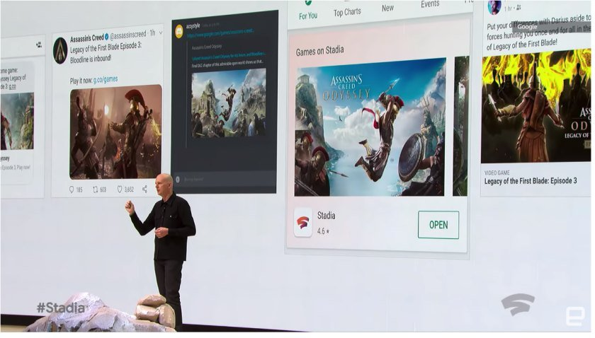 Google Stadia released