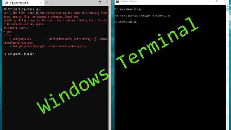 Windows Terminal is new feature rich command line