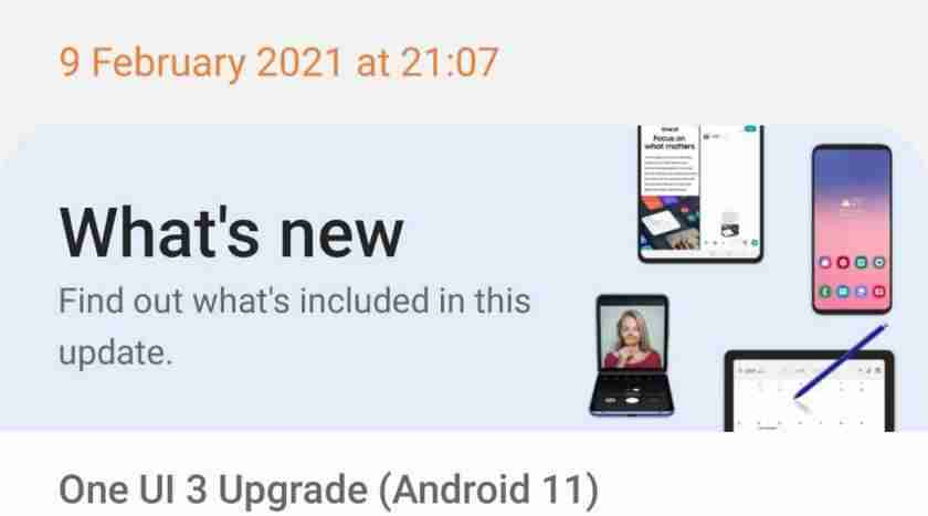 Samsung One UI 3 Full Changes