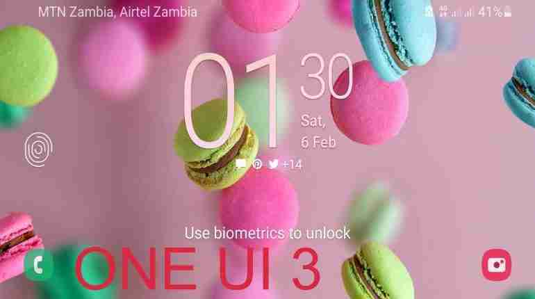 Samsung One UI 3 started roll out in Zambia hardly 10 days into February