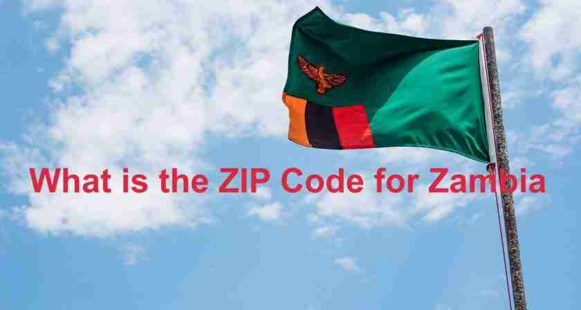 What is the zip code for Zambia?