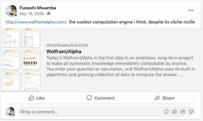 What is Wolfram Alpha? Can you use it in Zambia? 1