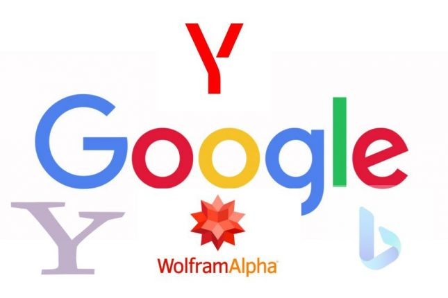 How search engines work: Google, Yahoo, Bing, Yandex